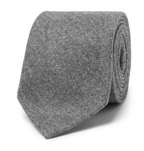 Brunello Cucinelli 8cm Mélange Wool, Silk And Cashmere-Blend Tie