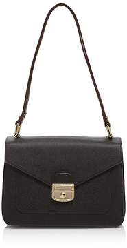 Longchamp Le Pliage Heritage Shoulder Bag - BLACK/GOLD - STYLE