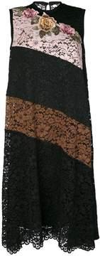 Antonio Marras striped lace dress
