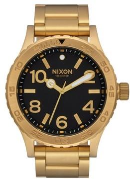 Nixon Men's Bracelet Watch, 46Mm