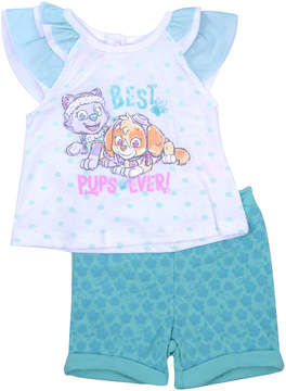Nickelodeon 2-pc. Paw Patrol Short Set-Infant Girls