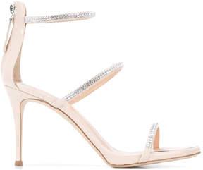 Giuseppe Zanotti Design patent strap sandals