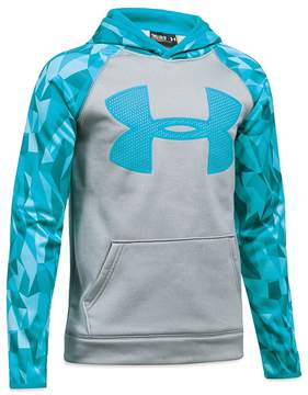 Under Armour Boys' Big Logo Hoodie - Big Kid