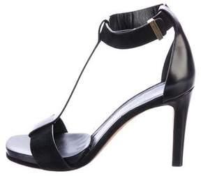 Celine T-Strap Leather Sandals