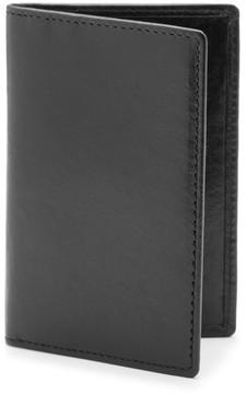 Bosca Men's Vermont Leather Card Case - Black