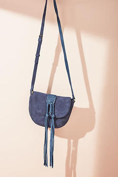 Shiraleah Mila Fringed Saddle Bag