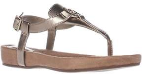 Giani Bernini Gb35 Raisaa Flat Thong Sandals, Oro.