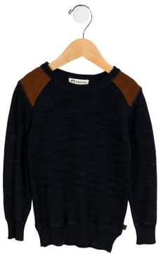 Appaman Fine Tailoring Boys' Mélange Crew Neck Sweater