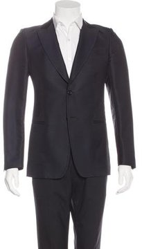 Moschino Twill Two-Button Blazer