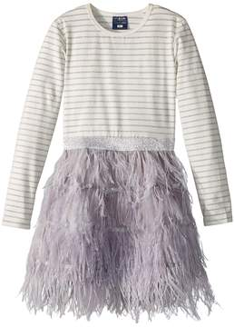 Toobydoo Feather Skirt Party Dress Girl's Dress