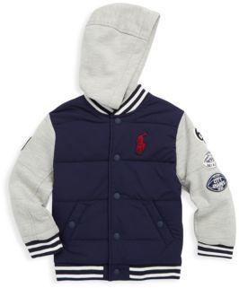 Ralph Lauren Toddler's, Little Boy's & Boy's Varsity Bomber Jacket