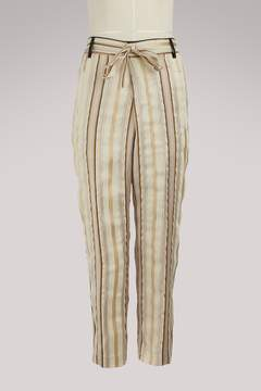 Forte Forte Striped pants