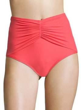 CoCo Reef Diva Mesh High-Waist Bikini Bottom