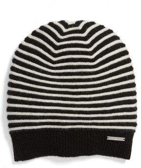 MICHAEL Michael Kors Women's Double Links Wool & Cashmere Hat - Black