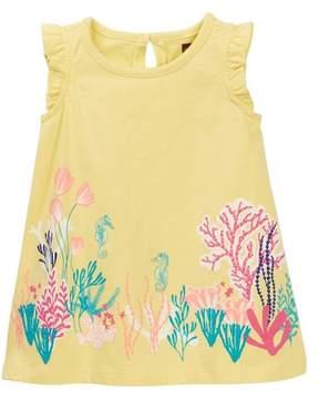 Tea Collection Reef Garden Graphic Dress (Baby Girls)