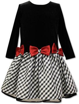 Jayne Copeland Plaid-Skirt Dress, Little Girls (4-6X)