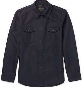 Calvin Klein Collection Forge Twill Overshirt