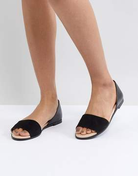 London Rebel Closed Heel Flat Sandal