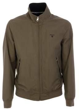 Gant Men's Green Polyester Outerwear Jacket.