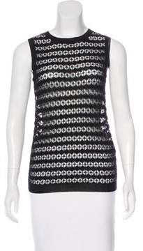 Allude Sleeveless Knit Top w/ Tags