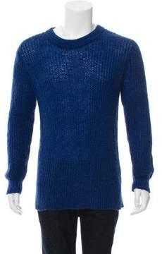 BLK DNM Mohair-Blend Knit Sweater