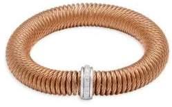 Alor Diamond & 18K White Gold Bracelet