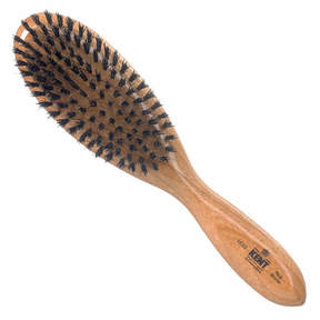 Kent Ladies Oval Hair Brush Black (LC22)