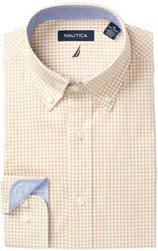 Nautica Gingham Regular Fit Dress Shirt