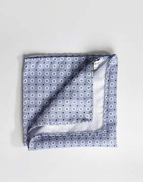 Jack and Jones Pocket Square With Floral Print In Gray