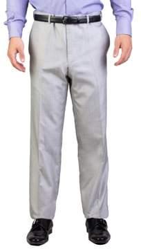 Christian Dior Men's Silk Slim Fit Trouser Pants Light Grey