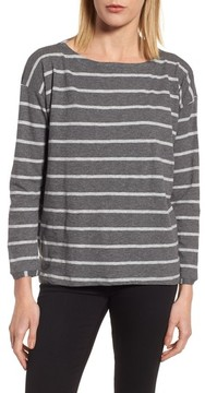 Eileen Fisher Women's Stripe Organic Cotton Top
