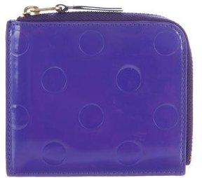 Comme des Garçons Patent Leather Zip Wallet