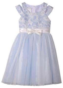 Iris & Ivy Girl's Jacquard Social Dress