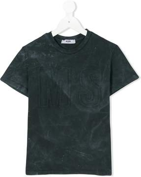 MSGM Kids embroidered T-shirt