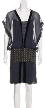 Amanda Wakeley Silk Knee-Length Dress