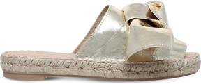 Carvela Kurry mettalic faux-leather sandals