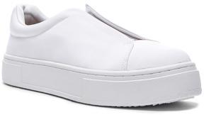 Eytys Grosgrain Doja Sneakers in White.