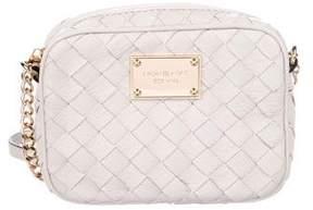 MICHAEL Michael Kors Woven Leather Crossbody Bag