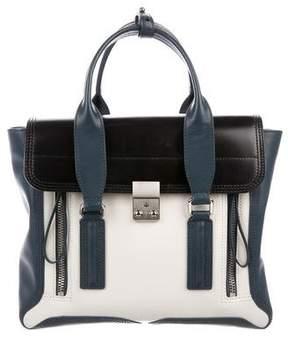 3.1 Phillip Lim Colorblock Pashli Leather Satchel