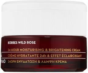 Korres Wild Rose 24-Hour Moisturising and Brightening Cream
