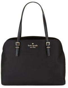 Kate Spade Marybeth Zippered Handbag - BLACK - STYLE