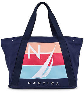 Nautica For Shoal Large Tote - Navy