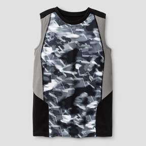Champion Boys' Novelty Sleeveless Tech T-Shirt