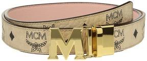 MCM Color Visetos Flat M Belt Belts