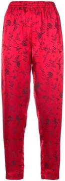 Forte Forte printed tapered trousers