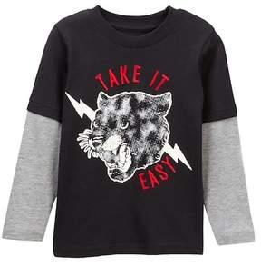 Joe Fresh Take it Easy Twofer Tee (Toddler & Little Boys)
