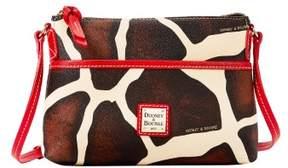 Dooney & Bourke Serengeti Ginger Crossbody Shoulder Bag - GIRAFFE RED - STYLE