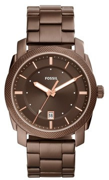 Fossil Men's Machine Bracelet Watch, 42Mm