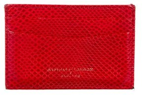 Aspinal of London Embossed Card Holder