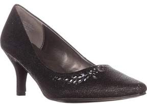 Karen Scott Ks35 Marlys Rhinestone Classic Pumps, Black.